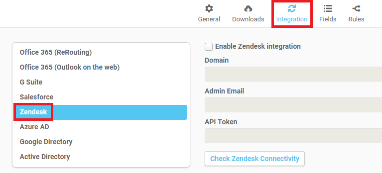 Zendesk email signatures